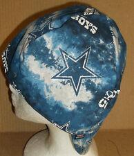 NFL Dallas Cowboys Tye Dye 100% cotton, Welding, Biker, Pipe-fitter,4 panel hat