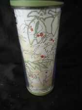 Travel mug Starbucks insulated 12 oz. flowers flip open spout coffee tea water