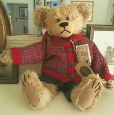 Boyds Collection Bear Handmade Filmore Mohair Suede All Tags #900200 New 155