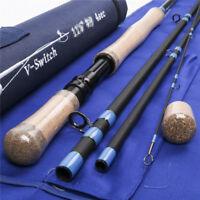 Maxcatch Switch Rod, 5wt-9wt, 10.5ft-11ft, Carbon Fiber, spey rod