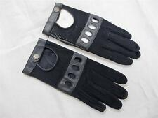 Faux Leather Driving Vintage Gloves