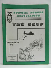 GREEN BERET, THE DROP MAGAZINE, SEPT, 1979 ORIGINAL ISSUE, SPECIAL FORCES ASSOC.