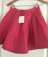 WITCHERY DESIGNER VISCOSE NEW W TAGS SKIRT WORK PARTY SZ 8