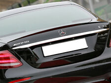 Mercedes W213 E Class Saloon Limo Boot Trunk Lid Spoiler Black AMG STYLE
