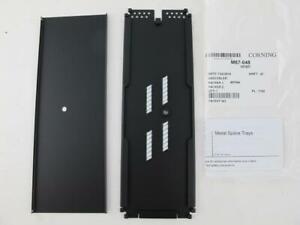 "Corning NEW Splice Tray 12 Fiber Optics .2"" Heat Shrink Fusion Splices M67-048-C"