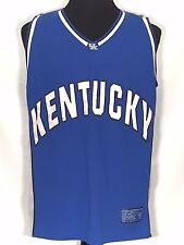 Kentucky Wildcats #50 NCAA SEC Colosseum Mens XL Blue Home Basketball Jersey