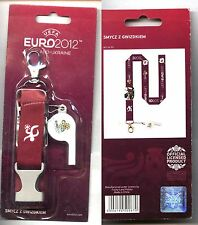 UEFA FOOTBALL EURO 2012 - official Lanyard VERY GOOD PRICE !!! purple colour