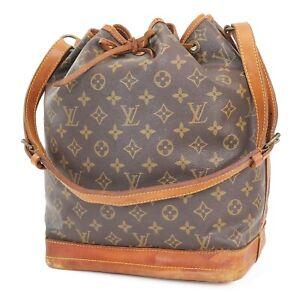 Authentic LOUIS VUITTON Noe Monogram Shoulder Tote Bag Purse #39499