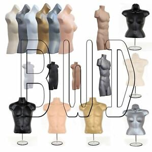 Female Male Child Standing/Hanging Body Form Mannequin Retail Shop Display