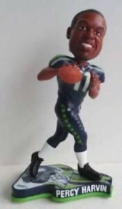 Percy Harvin Seattle Seahawks 2013 NFL Pennant Base Bobblehead Limited Ed-NIB