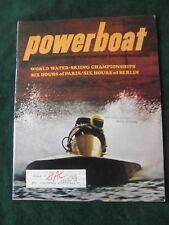 Powerboat Magazine December 1971