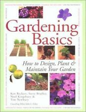 Country Living Gardener Gardening Basics: How to Design-ExLibrary