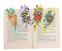 Pack of 12 - Smashed Bugs Bookmarks - Great Halloween Party Loot Bag Fillers
