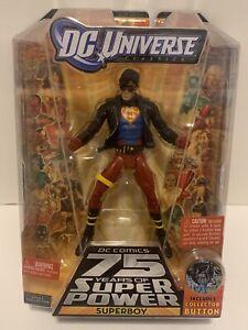 "MATTEL DC UNIVERSE CLASSICS SUPERBOY CONNER KENT 6"" FIGURE WAVE 13 TRIGON BAF!"