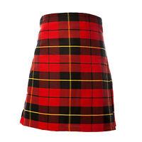 New Mens Scottish Wallace Tartan 5 Yard Party Kilt Handmade various sizes