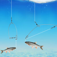 Automatic Fishing Hook High Spring Fast To Catch Fish For Majority Of Fish 10cm