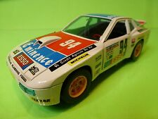 BBURAGO 9105 PORSCHE 924 TURBO - RALLY ESSO No 94- 1:24 - GOOD CONDITION