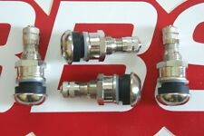 4 REAL BBS 11mm {opening} METAL VALVE STEMS 09.15.004