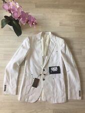 Gucci Jacket Ladies Gucci White Coat IT46 UK14 NEW £990 Gucci Balzer