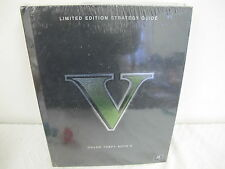 GRAND THEFT AUTO V LIMITED EDITION STRATEGY GUIDE HARD COVER BOOK NEW