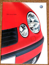 2001 VW POLO Launch Brochure (New Model)  - Sport SE S E - Excellent