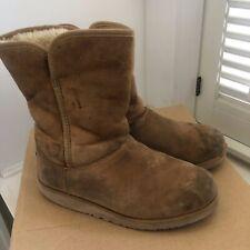 UGG Australia Uggs Big Kids Size 3- Classic Short Sheepskin Boots Chestnut