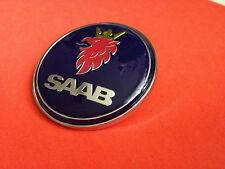 SAAB 9-3 9000 900 BONNET LOGO BADGE FRONT 50MM BRAND NEW PART # 4522884