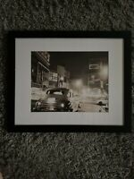 Classic Harlem NY Framed Print ! Beautiful Picture In Great Shape 22x18