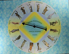 Greek Pantheon Oracle Spinner Divination Fortune Telling Game Goddess Mythology