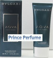 BULGARI AQUA POUR HOMME AFTER SHAVE BALM - 100 ml