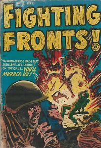 Harvey Comics Fighting Fronts Vol 1 (1952 Series) # 2 VG+