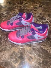 EXCELLENT CONDITION Nike Retro jordans Pink/Purple Youth size ! Size 6Y