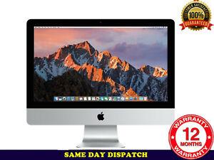 Grade A- Apple iMac 21.5'' 2015 i5 1.6 Ghz 8GB RAM 1TB Storage Ref: P08