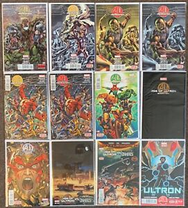 Age of Ultron #1,2,4AB,5AB,6,7,9,10 AI Vs Zombies #2 Variant,#3 Ultron AU lot Nm