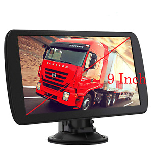"9"" Truck GPS Car GPS Navigation for Car 256MB 8GB Lorry HGV Sat Nav FM US Maps"