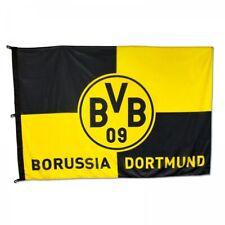 Borussia Dortmund - BVB-Hissfahne Karo (180x120cm)