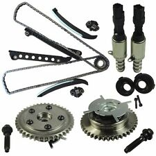 Timing Chain Kit Cam Phasers VVT Valves Fit Ford F-150 F-250 with Seal & Screw