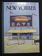 """The New Yorker Dec 3 2012 """"Hot Dog Stand"""" Cover - The Food Issue [Single Issue.."""