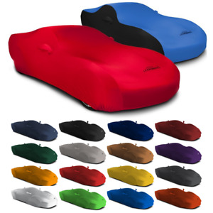 Satin Stretch Indoor Custom Fit Car Cover For Fiat 500L