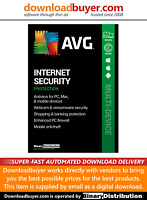AVG Internet Security 2021 - 1 Device - 2 Years [Download]