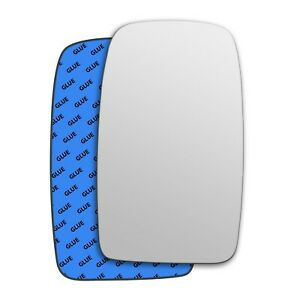 Right wing adhesive mirror glass for LDV Convoy 1997-2006 174RS