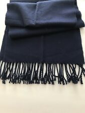 Navy Blue Man Scarf in great pre-owned condition