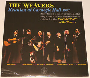 Gold Note The Weavers Reunion at Carnegie Hall - Vinyl LP limited Edition (180g)