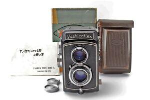 YashicaFlex Model A Twin Lens Reflex TLR 6x6 Camera [Excellent++,Overhauled] JP