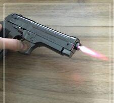 Pistol 54 PPK Browning Cigarette Lighter. 1:1 Metal Gun Gift Man Color Black