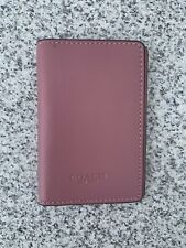 Coach Leather Cardholder Small Wallet Used 2times