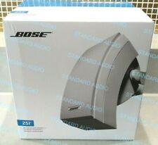 Bose 251 Environmental Outdoor Speakers (White, Pair). NEW, SEALED