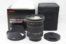 SIGMA 17-50mm F2.8 EX DC OS HSM AF Zoom Lens for Nikon F Mount w/ Box #200324e