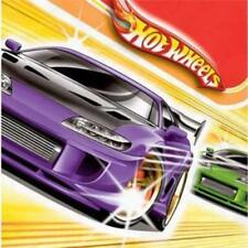 Hot Wheels Fast Action Lunch Dinner Napkins 16 Luncheon Napkins Per Package NEW
