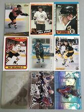 (36) Ray Bourque Ice Hockey Investment Card Lot - Wow - Great mix ALL Pictured